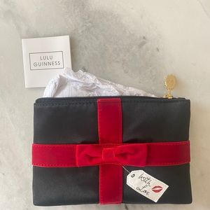 """Lulu Guinness """"With Love"""" Pouch"""